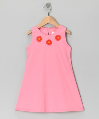 Pink Flower Dress - Toddler