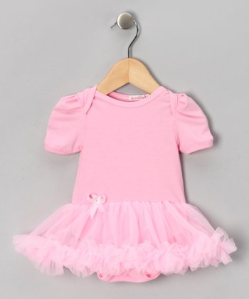 Pink Ruffle Skirted Bodysuit - Infant