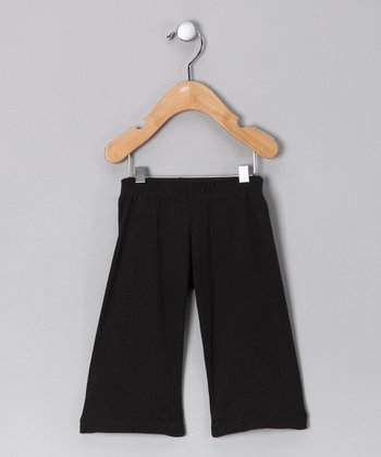 Black Organic Pants - Infant