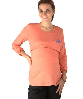 Orange Tree Maternity & Nursing Tee