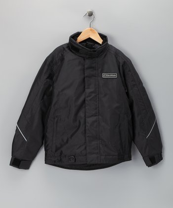 Black Sledmate XT Series Jacket - Boys
