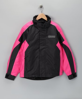 Pink Sledmate XT Series Jacket - Girls