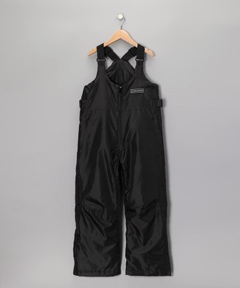 Black Sledmate XT Series Bib Pants - Boys