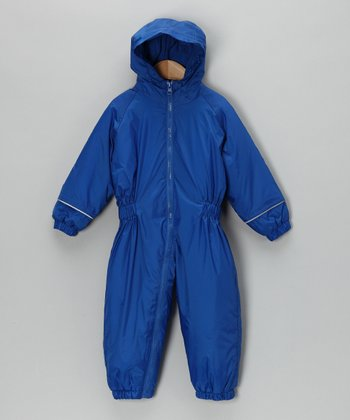 Royal Blue Snowsuit - Infant