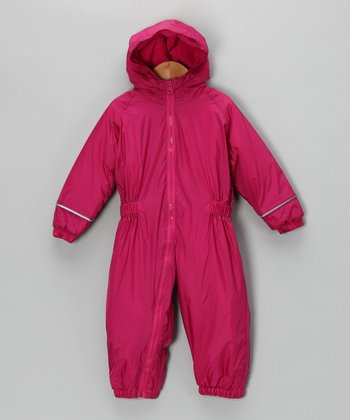 Fuchsia Snowsuit - Infant