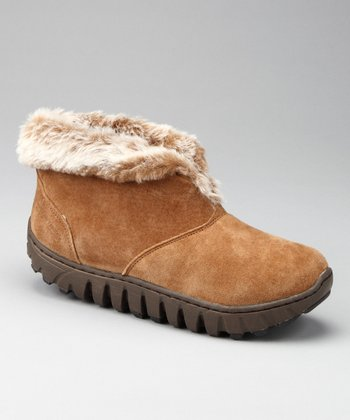 Tan Lila Range Faux Fur Boot