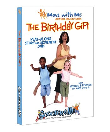 Move with Me The Birthday Gift DVD