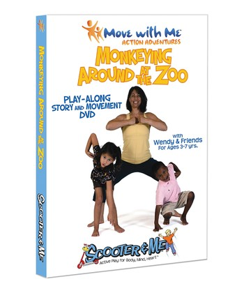 Move with Me Monkeying at the Zoo DVD