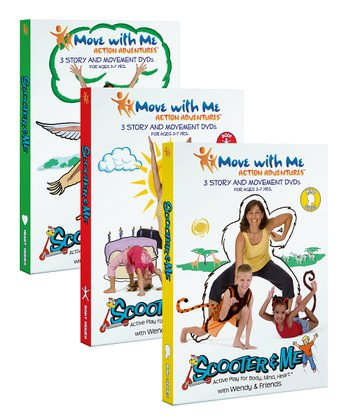 Move with Me The Scooter & Me Yoga DVD Set