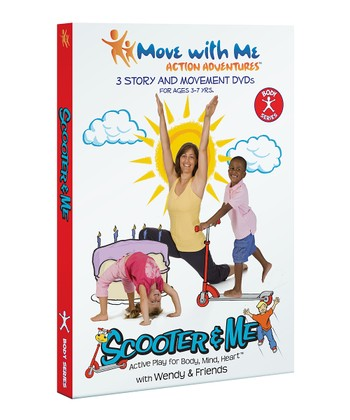 The Scooter & Me Body Yoga DVD
