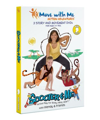 The Scooter & Me Yoga Mind Yoga DVD