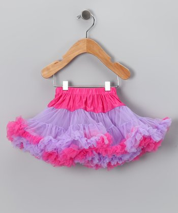 Purple & Pink Pettiskirt - Infant, Toddler & Girls