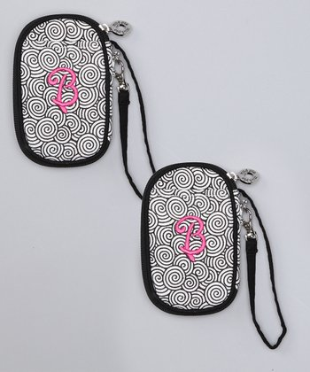 'B' Wristlet - Set of Two