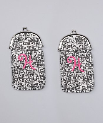 'H' Sunglasses Case - Set of Two