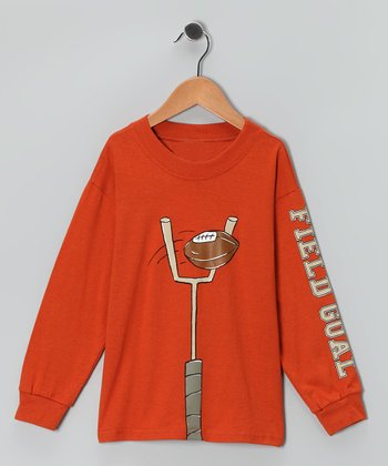 Chestnut 'Field Goal' Tee - Boys