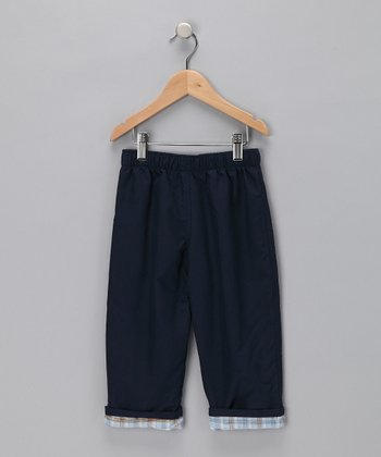 Navy & Light Blue Pants - Toddler & Boys