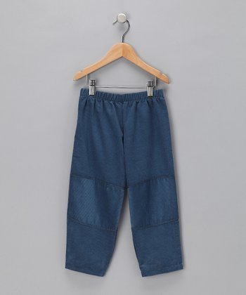 Denim Knee Patch Pants - Infant & Toddler