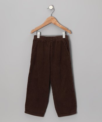 Chocolate Corduroy Pants - Toddler & Boys