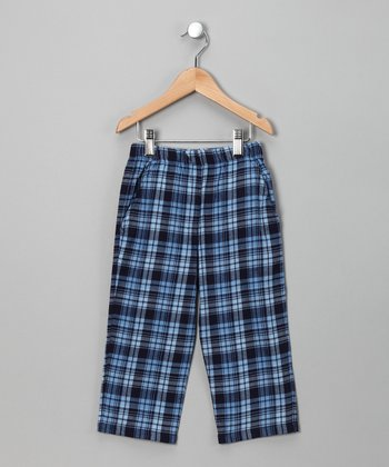 Blue Flannel Pant - Infant & Toddler