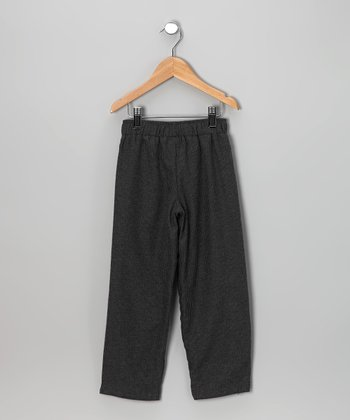 Steel Gray Reversible Pants - Toddler & Boys