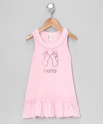 Baby Pink Ballet Personalized Dress - Infant, Toddler & Girls