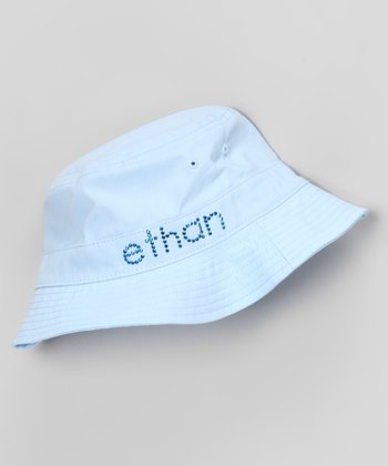 Blue Personalized Bucket Hat