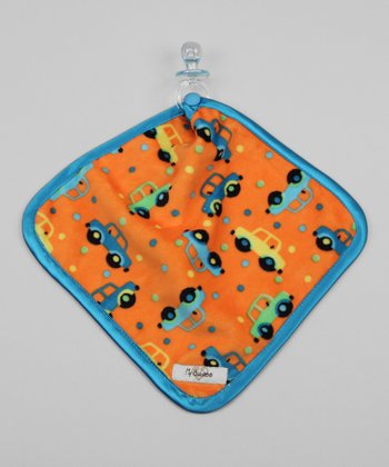 Orange & Turquoise Car Lovey