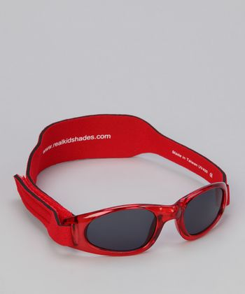 Red Sunglasses & Strap - Toddler & Kids