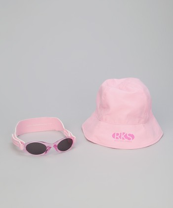 Pink Sunglasses & Sunhat - Infant