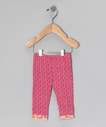 Pink Organic Leggings - Infant & Toddler