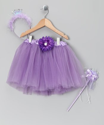 Lilac Princess Tutu Set - Toddler & Girls