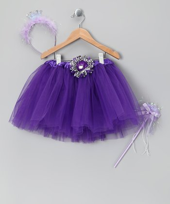 Purple Princess Tutu Set - Toddler & Girls