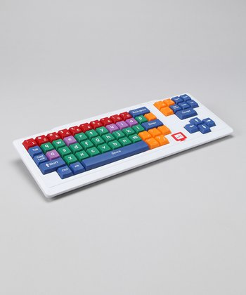 White Stage II Big Kid Keyboard