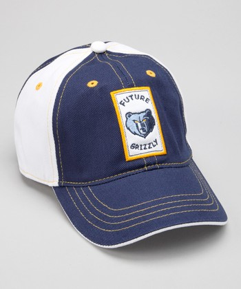 Navy & White Memphis 'Future Grizzly' Baseball Cap