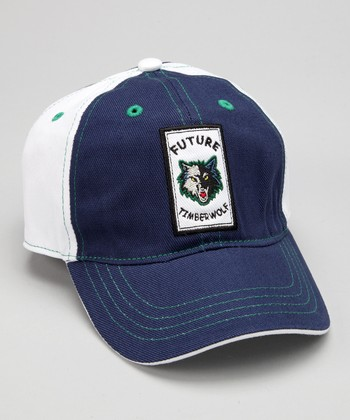 Navy & White Minnesota 'Future Timberwolf' Baseball Cap