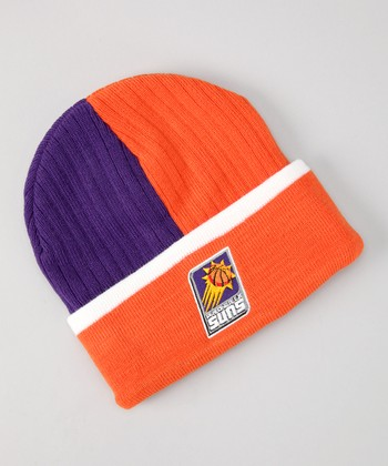 Purple & Orange Phoenix Suns Beanie