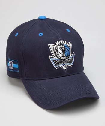 Navy Dallas Mavericks Baseball Cap