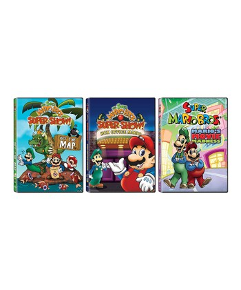 Super Mario Bros. Super Show Movie DVD Set