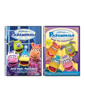 Pajanimals DVD Set