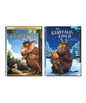 The Gruffalo & The Gruffalo's Child DVD Set