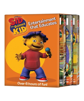 Sid the Science Kid Change DVD Set