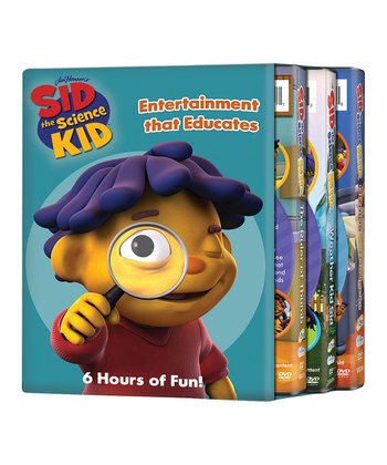 Sid the Science Kid Gadgets DVD Set