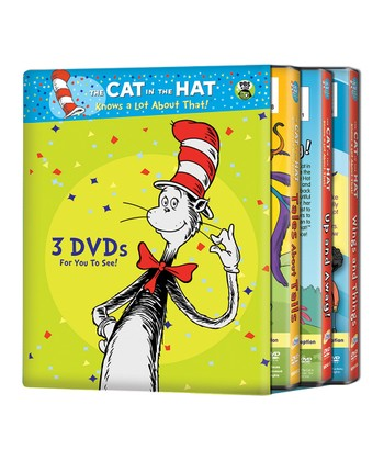 Cat in the Hat Adventure DVD Set
