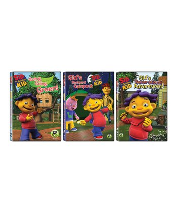 Sid the Science Kid Adventure DVD Set