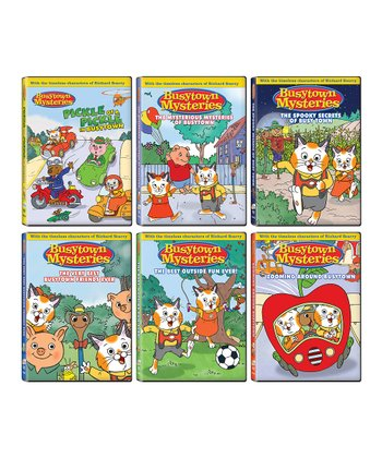 Busytown Mysteries DVD Set