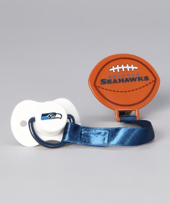 Seattle Seahawks Clip Pacifier