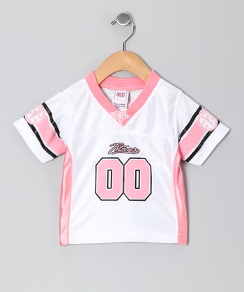 Tennessee Titans Pink Jersey - Infant & Toddler