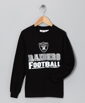 Oakland Raiders Topeka Long-Sleeve Tee - Boys