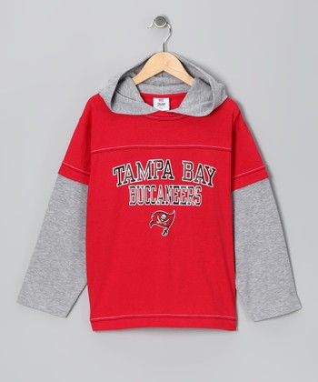 Tampa Bay Buccaneers Layered Hoodie - Boys