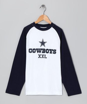 Dallas Cowboys Raglan Tee - Boys